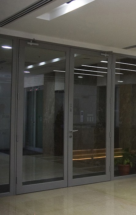 Intact 3000 portes aluminium for Les portes aluminium