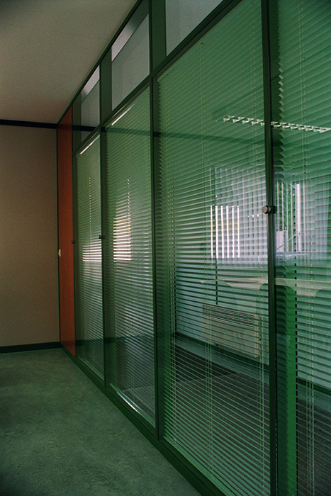 Crystal DG partition - Office container for oil industry